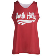 Womens Mini Reversible Mesh Tank