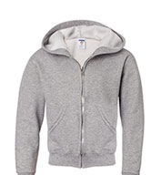 Heavyweight Youth Full-Zip Hooded Sweatshirt