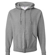 Jerzees Full-zip Hooded Sweatshirt - Adult Mens