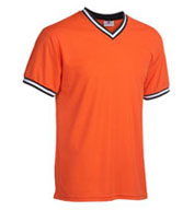 Teamwork Baseball Shirt 1770 V-Neck Adult Mens