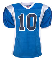 Teamwork 1327 Striped Steelmesh Football Jersey - Adult Mens