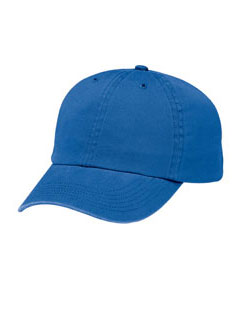 Cap Six Panel Low-Profile Brushed Twill Stitched