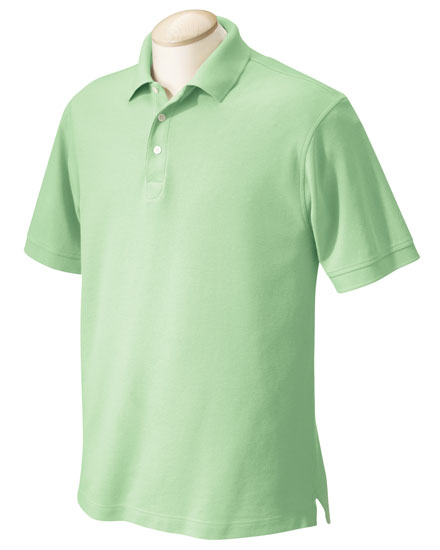 Performance Plus Pique Logo Polo - Mens