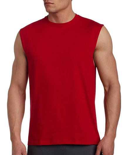 Russell T Muscle Cotton Mens