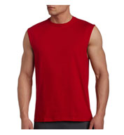 Russell Mens Cotton Muscle T