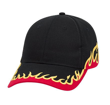 Racing Cap Flame, Low Profile Team