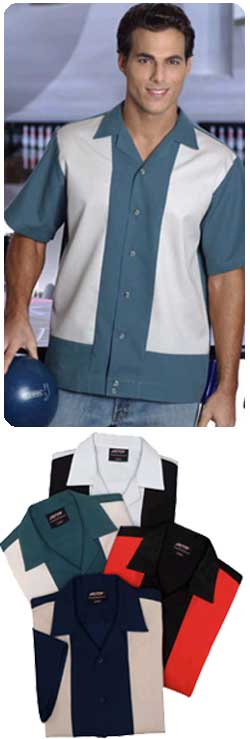 Bowlers Shirts Alley Cat Retro