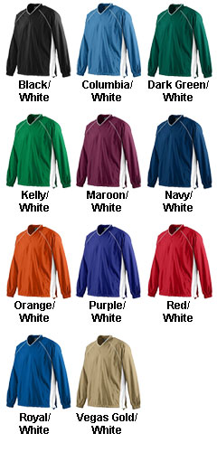 Adult Micro Poly Pullover Jacket - All Colors