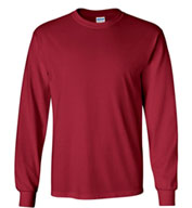 Gildan Ultra 100% Heavyweight Cotton Long Sleeve T-Shirt - Mens