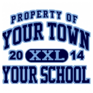 Powdersville Middle School Full-Color Shirt Designs (School Killer Apps-599)