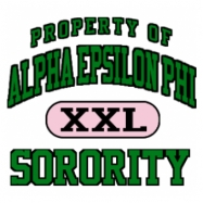 Alpha Epsilon Phi-599 Full-Color Shirt Designs
