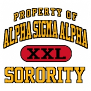 Alpha Sigma Alpha-599 Full-Color Shirt Designs