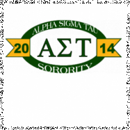 Alpha Sigma Tau-2771 Full-Color Shirt Designs