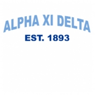 Alpha Xi Delta-2761 Full-Color Shirt Designs