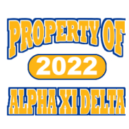 Alpha Xi Delta-514 Full-Color Shirt Designs