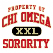 Chi Omega-599 Full-Color Shirt Designs