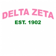 Delta Zeta-2761 Full-Color Shirt Designs