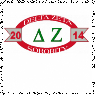 Delta Zeta-2771 Full-Color Shirt Designs
