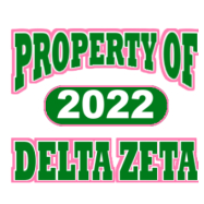 Delta Zeta-514 Full-Color Shirt Designs