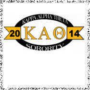 Kappa Alpha Theta-2771 Full-Color Shirt Designs