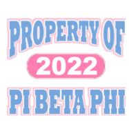 Pi Beta Phi-514 Full-Color Shirt Designs