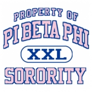 Pi Beta Phi-599 Full-Color Shirt Designs