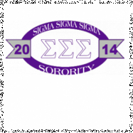 Sigma Sigma Sigma-2771 Full-Color Shirt Designs