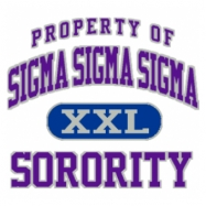 Sigma Sigma Sigma-599 Full-Color Shirt Designs