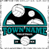 Volleyball-205 (Full Color)