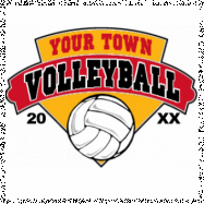Volleyball-209 (Full Color)