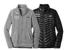 Custom The North Face Apparel & Outerwear | LogoSportswear