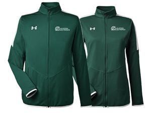 custom logo jackets under armour