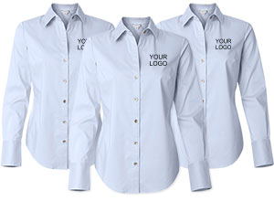Custom Corporate Dress Shirts | Logo Sportswear