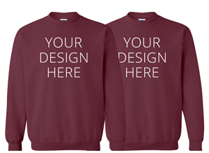 95377084f90f Custom Mens Crewneck Sweatshirts