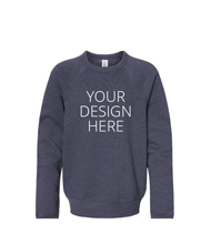 48ac77d44fa0 Custom Youth Crewneck Sweatshirts