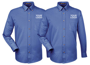 4cd535f143 Custom Embroidered Dress Shirts