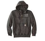 Custom Quarter u0026 Half Zip Hoodies  sc 1 st  LogoSportswear & Custom Hoodies and Pullover Hoodie Sweatshirts