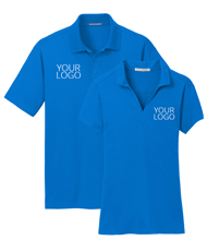 Design Custom Polos & Embroidered Polos Online LogoSportswear