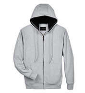 UltraClub Adult Rugged Wear Thermal-Lined Full-Zip Jacket