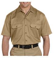Dickies Mens Short Sleeve Twill Workshirt