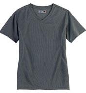 Ladies Dri-Mesh Crossover V-Neck T-shirt