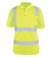 Game Sportswear ANSI/ISEA 107-2015 Class 2  Foreman Polo