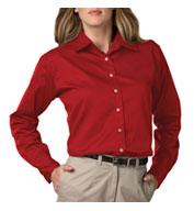 Blue Generation Ladies Long Sleeve Teflon Twill Shirt