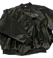 ASW Adult Pro-Satin Solid Baseball Jacket with Quilt Lining