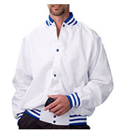 ASW Adult Pro-Satin Baseball Jacket - Quilt Lined