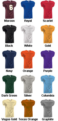 Adult Crunch Time Custom Football Jersey - All Colors