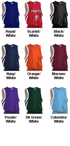 Adult Downtown Reversible Basketball Jersey - All Colors