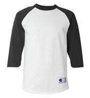 Champion Mens 100% Cotton Raglan Sleeve
