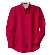 Port Authority® Mens Long Sleeve Easy Care Shirt