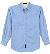 Port Authority® Mens Tall Long Sleeve Easy Care Shirt